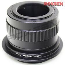 Rodenstock Rodagon 80mm f/4 M39 lens to Fujifilm GFX G mount adapter Fuji GFX50S