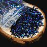 2000X 3D Round AB Rhinestone Acrylic Nail Art Glitter Crystal Decorations 2 O3F6