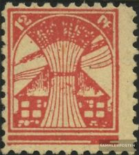 Soviet Zone (Allied.cast.) 18 with hinge 1945 Mecklenburg 1.issue