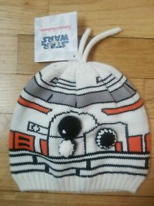 NWT HANNA ANDERSSON STAR WARS BB-8 DROID BEANIE HAT Small S 3-4 years $30