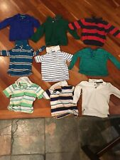 Boys Clothing Bundle Of 9 Shirts 2T