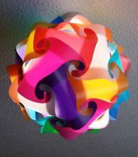 IQ Puzzle Light shade puzzle lamp multi colour lampshade 30cm Diameter DIY KIT