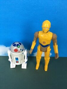 Star Wars Pop Up Lightsaber Droids R2-D2 And C3PO Reproduction Figures