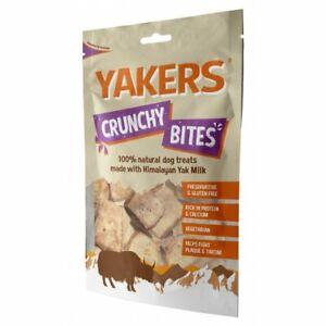 Yakers Crunchy Bites Dog Treats 70g