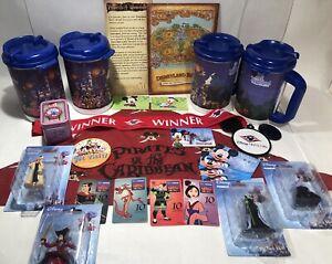 Disneyland / DisneyWorld Parks Mixed Lot Promotional Items / Collectibles