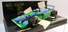 Voitures Formule 1 miniatures vert pour Benetton