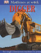 Wheelies Book - Digger (Machines at Work), , Used; Very Good Book