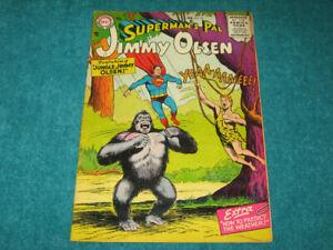 1956 Vintage Original Superman's Pal JIMMY OLSEN #10 DC Comics Nice VG