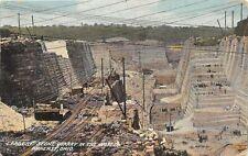 F83/ Amherst Ohio Postcard Lorain County 1909 Largest Stone Quarry World