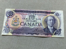 Bank of Canada 1971 $10 Ten Dollar Lawson Bouey Replacement Note Bill *Tt2375643