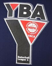 VTG Small/Medium YMCA Youth Basketball League Blue T-Shirt YBA NBPA