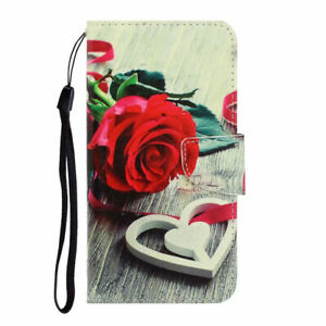 For Samsung Galaxy A10 A30 A50 A71 Painted Wallet Flip Leather Phone Case Cover