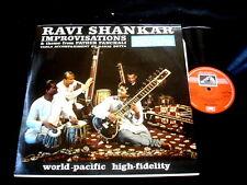 RAVI SHANKAR/IMPROVISATIONS/BUD SHANK/GARY PEACOCK/PSYCHE/EMI INDIA PRESS