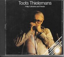 TOOTS THIELEMANS / PHILIP CATHERINE - & Friends CD Album 10TR 1985 HOLLAND RARE!