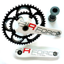 gobike88 Driveline AIR FORCE 10S Crankset with Spindle and BB, White, Y55