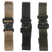 Adjustable Tactical Belts Nylon Military Waist Belt with Metal.DS