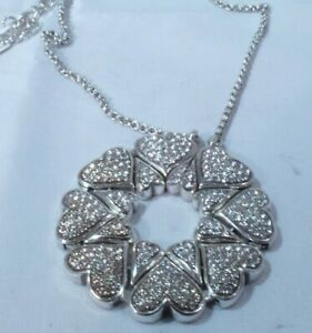 NWT Brighton AS ONE 4 in 1 With Swarovski Crystals Reversible Necklace JN1582