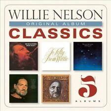 NEW Sealed Willie Nelson Original Album Classics [5 CD Box Set] Best Of Willie