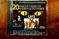 The Allen Toussaint Orchestra - 20 Famous Themes Of Andrew Lloyd We..  -  CD, VG