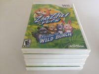 Zhu Zhu Pets: Featuring the Wild Bunch (Nintendo Wii, 2010) Wii NEW!!