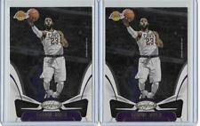 2018-19 Certified Lebron James 2 Card Lot Lakers