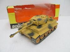 ENS64891 Solido 222 B Panzer Tiger I ,Metall, L:ca. 9,5 cm, Felge beschädigt