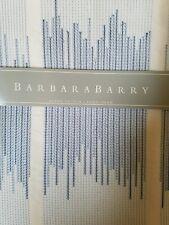 New Barbara Barry Alpen Stitch Delft Blue Euro Pillow Sham