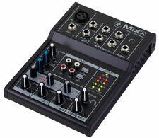 Mixer Compact with 5 Way Mackie MIX5 of Which 1 Ch Microphonic & 2 Ch Stereo