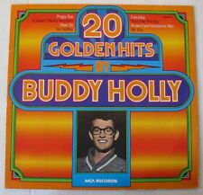 BUDDY HOLLY (LP 33T)  20 GOLDEN HITS