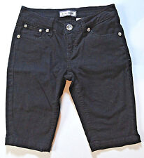 JC JQ JEANS {Size 5} Junior's Black BLING Rhinestone Shorts EXCELLENT!