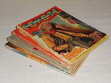 COLLANA RANCH romanzi western  10 pezzi   Ed. Dardo  1952  !!