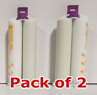 GC Examix NDS Heavy Body VPS Impression Material 2X 48mL Cartridges + 4 Tips