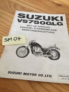 Suzuki VS750GLG VS750 Intruder 750 Manual Preparation Instalacion Manual Montaje