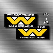 2x Weyland Yutani Corporation Decals Die Cut Sticker The Company