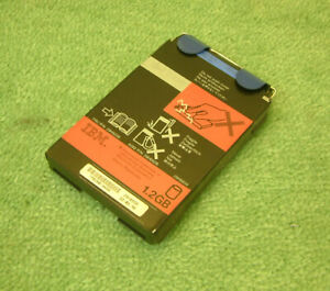 Vintage IBM Laptop 2.5 inch Hard Disk HDD Drive1.2GB + Caddy FRU 29H9228