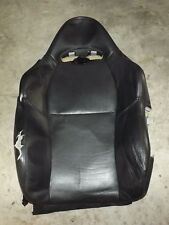 2002-2006 OEM Acura RSX DC5 front driver seat cushion back leather cover blk FL