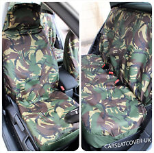 Jeep Wrangler  - Camouflage Waterproof Car Seat Covers - Full Set