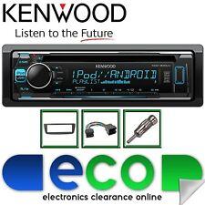 Peugeot 107 2005-2014 KENWOOD CD MP3 Usb Aux Pantalla de Color multi KIT de estéreo de coche