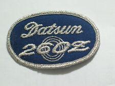 Datsun 260Z Auto Patch  , Vintage Datsun Aito Patch , (#3037)(**)