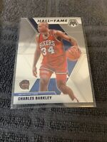 CHARLES BARKLEY 2019-20 MOSAIC HALL OF FAME SILVER PRIZM 76ERS