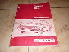 MAZDA 626 WORKSHOP MANUAL manuel atelier revue technique 1978 en Anglais