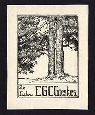20)Nr.058- EXLIBRIS- Eduard Gieskens