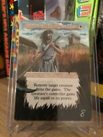 SWORDS TO PLOWSHARES / DA SPADE A SPIGHE ALTERED EXTENDED ARTWORK EXCELLENT MTG