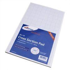 Ampad Cross-section Quadrille Pads - 40 Sheet - 20 Lb - Quad Ruled - (amp22028)