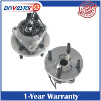 Pair(2) New FRONT Wheel Hub Bearing Assembly for Chevy Pontiac Saturn w/ABS