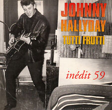 "MINI CD  1T 8 CM  JOHNNY HALLYDAY  ""TUTTI FRUTTI"""