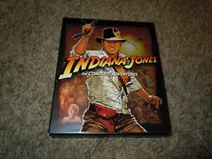 Indiana Jones The Complete Adventures Collection Blu-Ray 2012 5-Disc Set Book
