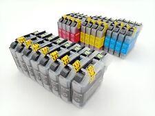 20x Brother LC123 Compatible ink cartridges DCP J4110DW/MFC J6520DW/DCP J752DW