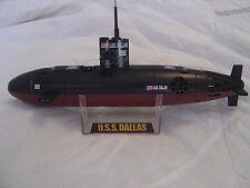 USS DALLAS SUBMARINE 6 CHANNEL RADIO CONTROL SUBMERSIBLE NEW ready to RUN