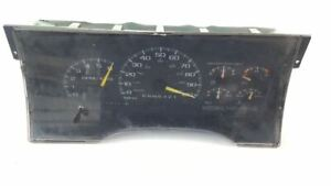Instrument Gauge Cluster 5.7 Automatic 4x2 OEM 1997 GMC Pickup 1500